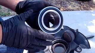 2011 Honda accord front wheel bearing replacement