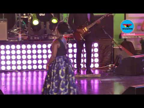 Diana Hamilton's electrifying performance at Adom Praise 2018