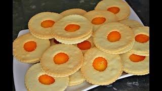 Ağızda eriyen marmelatlı kurabiye