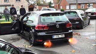 GOLF POWER 💣 [ANTI LAG, EXHAUST SOUNDS, LAUNCHES]