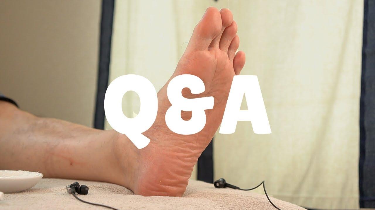 Q&A足つぼ | 質問にお答えします