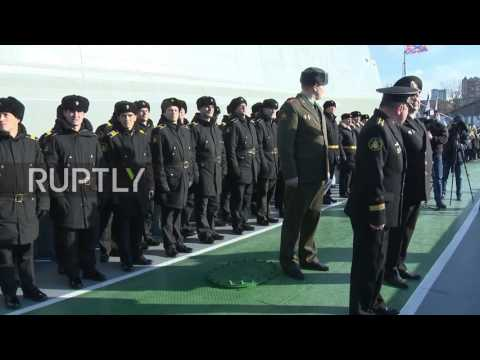Russia: Iranian ships arrive in port of Makhachkala