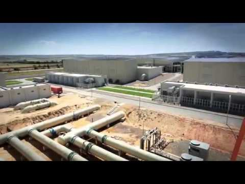 The World's Largest Desalination Plant, Magtaa Algeria   YouTube