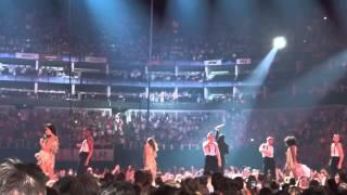 Robbie Williams singing Sensational - The O2 Arena - July 9, 2014