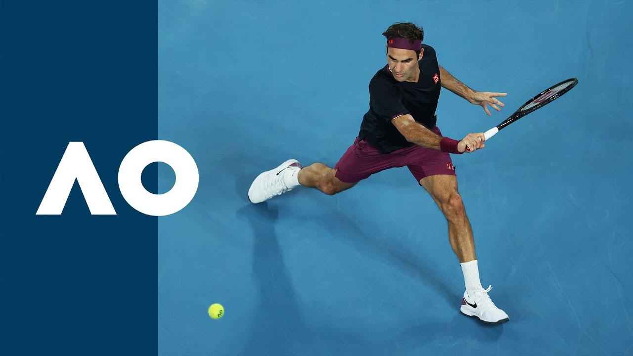 Roger Federer vs Filip Krajinovic - Extended Highlights (2R)   Australian Open 2020