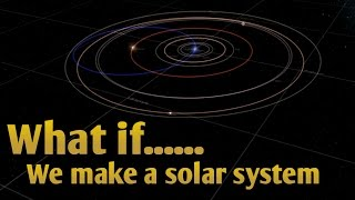WHAT IF WE MAKE A SOLAR SYSTEM