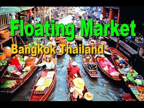 Floating Market Bangkok Without Tour