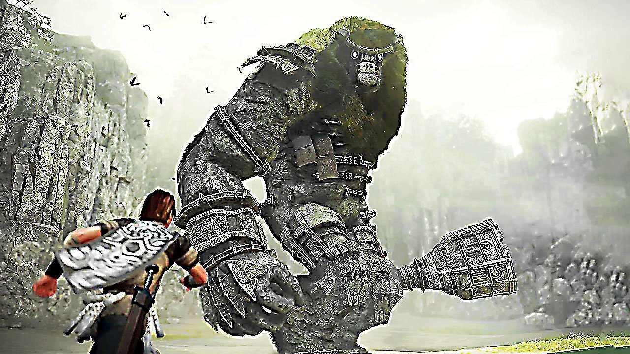 SHADOW OF THE COLOSSUS PS4 Trailer E3 2017 4K YouTube