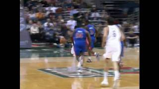 Brandon Jennings Shows His Handles