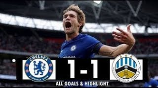 CHELSEA 1-1 HUDDERSFIELD TOWN. HUDDERSFIELD HAVE  SECURED THEIR STAY IN THE PREMIER LEAGUE