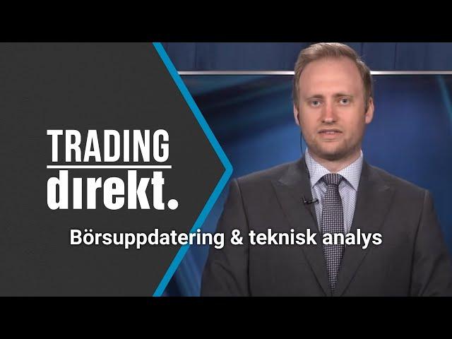 Trading Direkt 2021-05-11   Handelsbankens seniorekonom Johan Löf gästar!