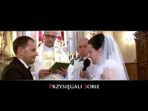 Agnieszka I Adrian Sierpc Czołówka ślubna Z Ubiegłego Roku 2012