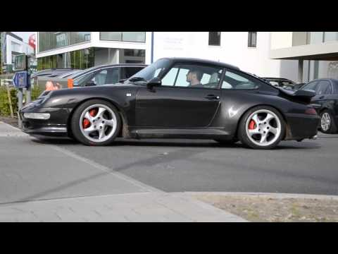 Porsche 911 993 Turbo. Sonido y aceleración / Sound and acceleration.