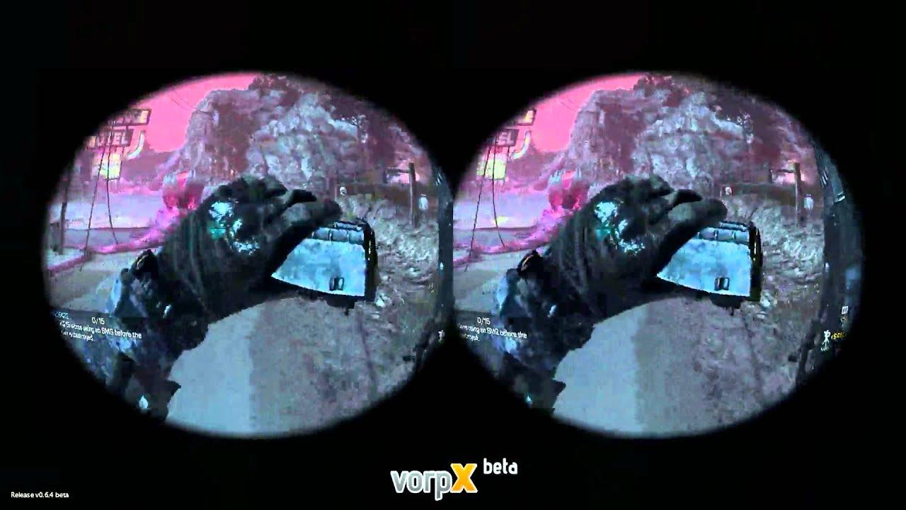 Oculus Rift Games Call Of Duty