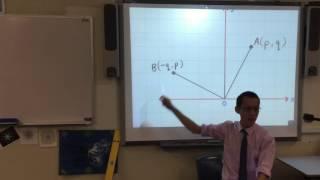 Perpendicular Lines (2 of 2: Understanding the relationship)