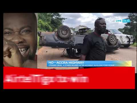 Ho-Accra highway: 2 feared dead, four others injured after accident involving Ford pickup