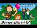 Spiel - und Bewegungslieder Mix, Kinderlieder deutsch | Kinderlieder zum Mitsingen - muenchenmedia