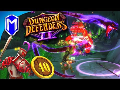 Getting Better Items For Chaos 6 - Let's Play Dungeon Defenders 2 Gameplay Ep 40