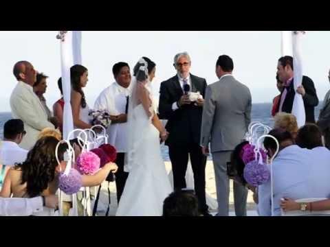 Rabbi Michael Mayersohn Co-Officiates A Jewish \u0026 Interfaith Wedding In Cabos