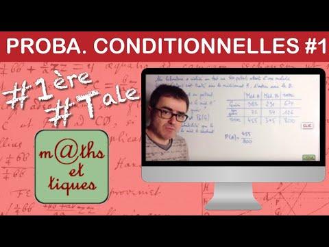Download Calculer une probabilité conditionnelle (1) - Première/Terminale