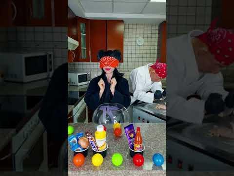 How we make ice cream challenge #Shorts