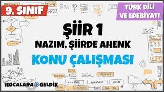 Nazım ve Şiirde Ahenk I Türk Dili ve Edebiyatı