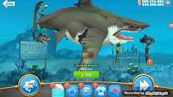 Hungry shark world - bölüm 1 - MEGALDON AYI GİBİİİİİİİİİİİ !!!!! ( HİLELİ APK AÇIKLAMADA)