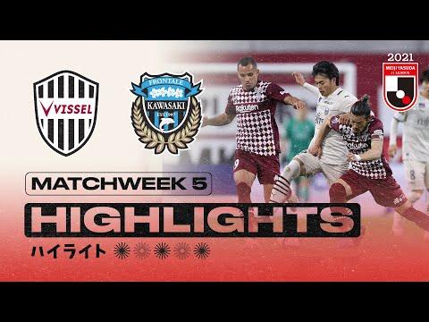 Kobe Kawasaki Frontale Goals And Highlights