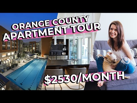 MY APARTMENT TOUR in Irvine, CA ($2500 a month) + Ikea Hacks