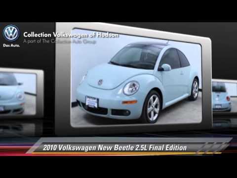 2010 Volkswagen New Beetle 2.5L Final Edition - Hudson