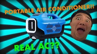 UNBOXING: Zero Breeze Portable Air Conditioner [REAL AC!!] [BATTERY POWERED!!]