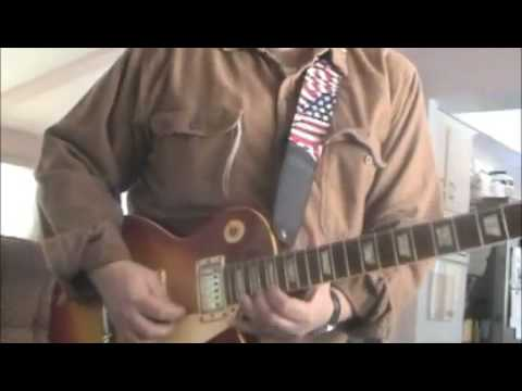 pink , pinkish Blues by Don Anderson ..Fender Super Champ XD 1959 Strat, 1960 Les Paul