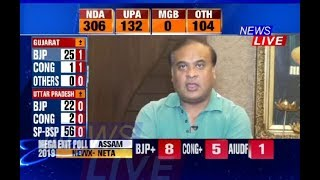 What did Himanta Biswa Sarma say about Exit Polls?