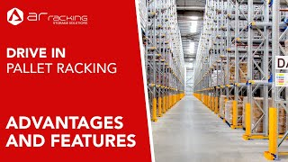 Drive in Compact Racking  Advantages and features