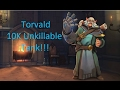 10k HEALTH UNKILLABLE MONSTER!! Torvald Paladins full Gameplay with commentary.