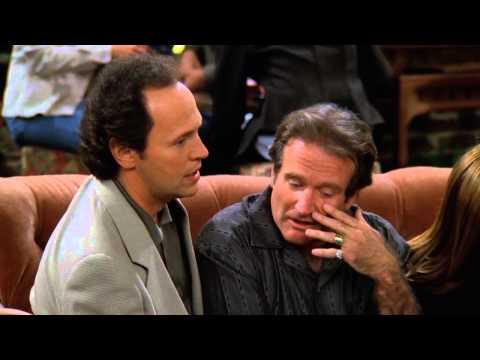 Robin Williams,Billy Crystal on Friends - HD