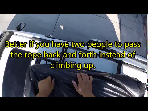 Tie Down A Roof Rack