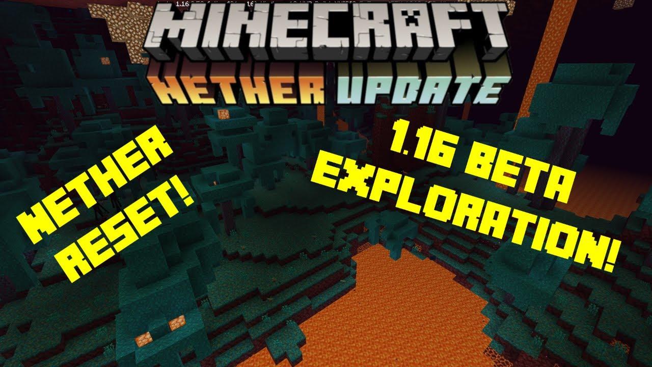 Minecraft Bedrock-Nether Reset and 10.106 Beta Exploration!!!