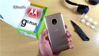 Moto G5 Plus Unboxing + Setup + Mini Review including Camera & Sound test
