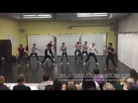 Gee, Officer Krupke West Side Story  Heather Kosik & David LindoReid Choreography