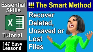 Excel Tutorial: File recovery. Microsoft Office Autosave to the rescue | ExcelCentral.com