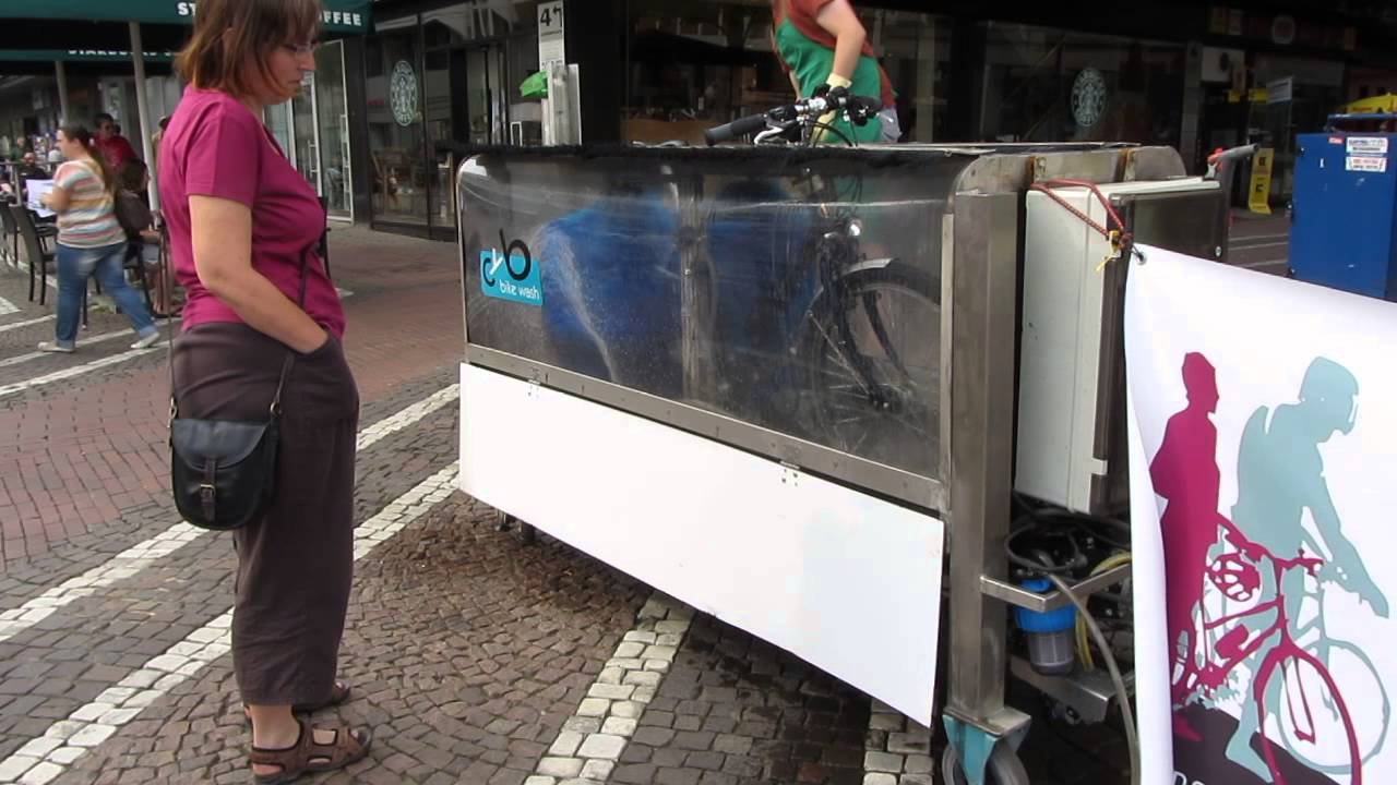 Bike Wash - Darmstadt, Germany - Bicycle washing machine ...