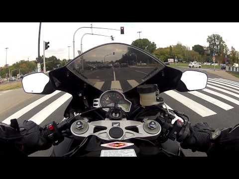 тест драйв Хонда СБР 1000 рр видео #7