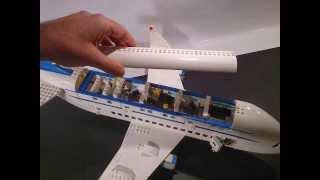 INSIDE LEGO AIRBUS A380.