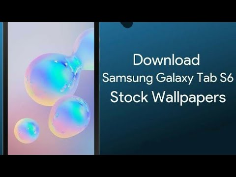 Samsung Galaxy Tab S6 5g Stock Wallpapers 4k Resolution With Download Link Youtube