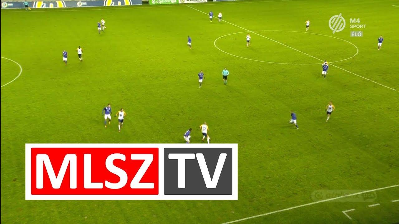 Perosevic Antonio gólja a Puskás Akadémia FC - Újpest FC mérkőzésen