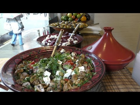 Couscous from Algeria Tasted in Chancery Lane. London Street Food