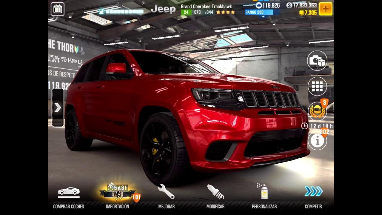 CSR2 Next Prestige Car - Gran Cherokee Trackhawk-Tuning 12 0