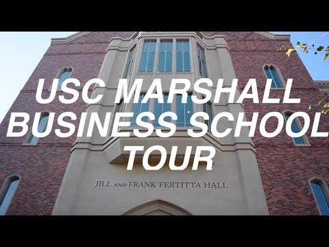 Tour: USC MARSHALL SCHOOL OF BUSINESS (my classroom & secret study spots)