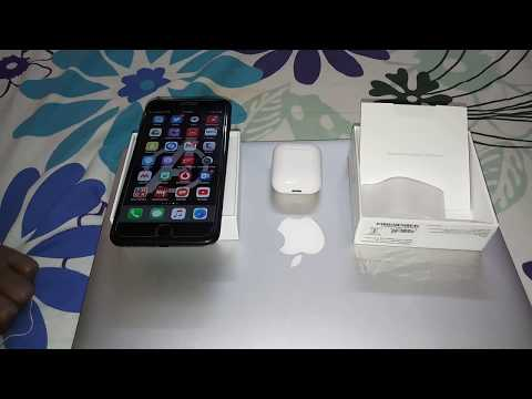 APPLE AIRPODS UNBOXING & REVIEW